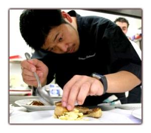 """Kei"" Matsuhima, jeune chef francofile et inspiré."