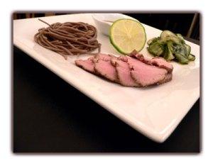 Recette de filet mignon de porc à la japonaise mariné dans une sauce Yuan