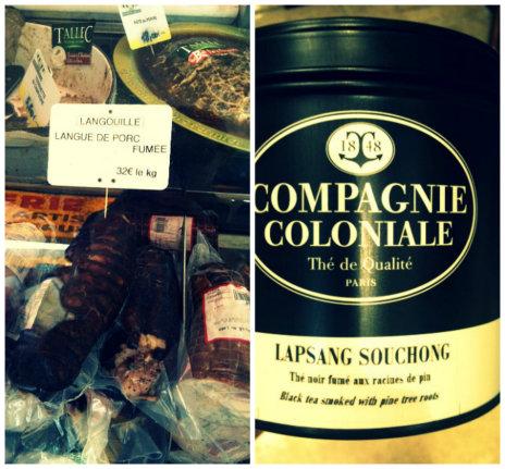 Langouille et thé Lapsang Souchong de la Compagnie Coloniale