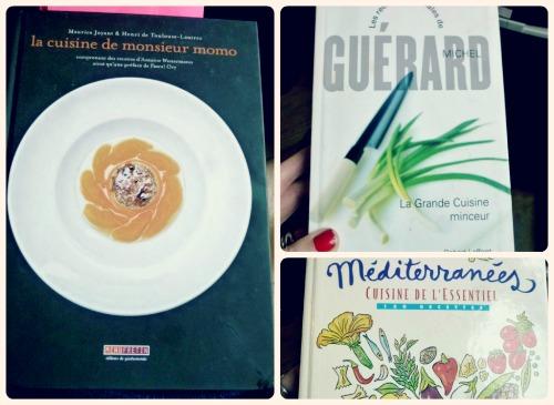 Livres de cuisine sans images