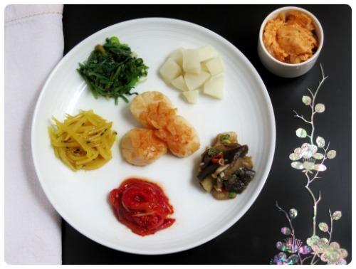 Coquilles saint-jacques au beurre de kimchi