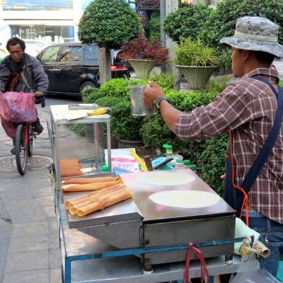 Crêpes thailandaises