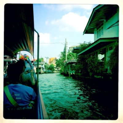 Long Tail Boat sur les klongs de Bangkok