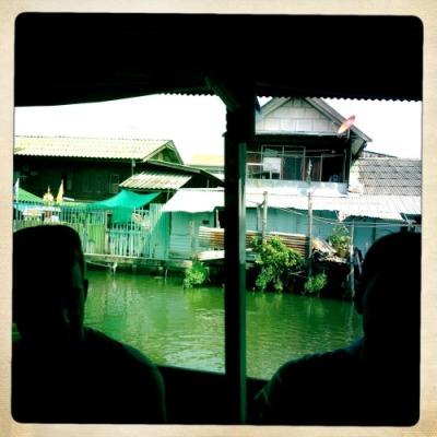 Restaurant dans les klongs