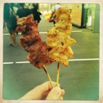 Brochettes Bangkok street food