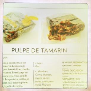 Pulpe de Tamarin
