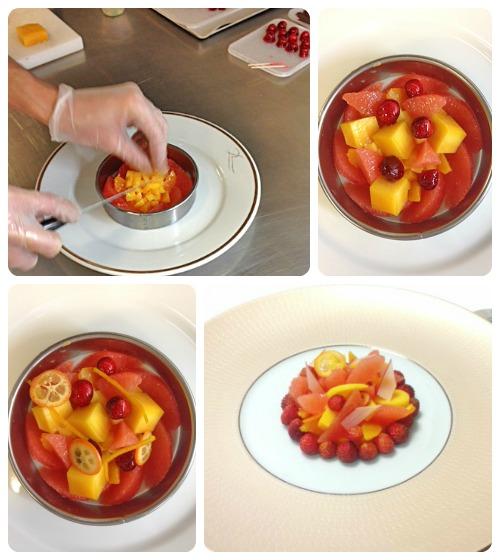 Salade de fruits par Clarie Heitzler et son équipe