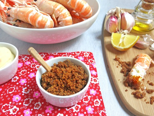 recette de chapelure d'anchois