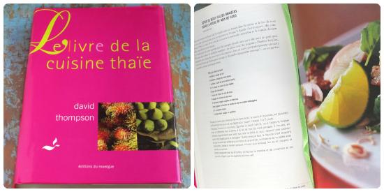 Livre de recettes thäïlandaises