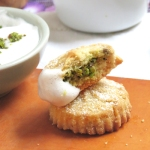Biscuits libanais à la pistache et natef