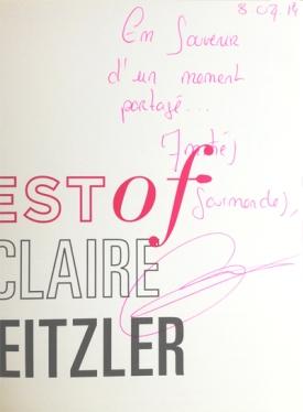 Livre Claire Heitzler