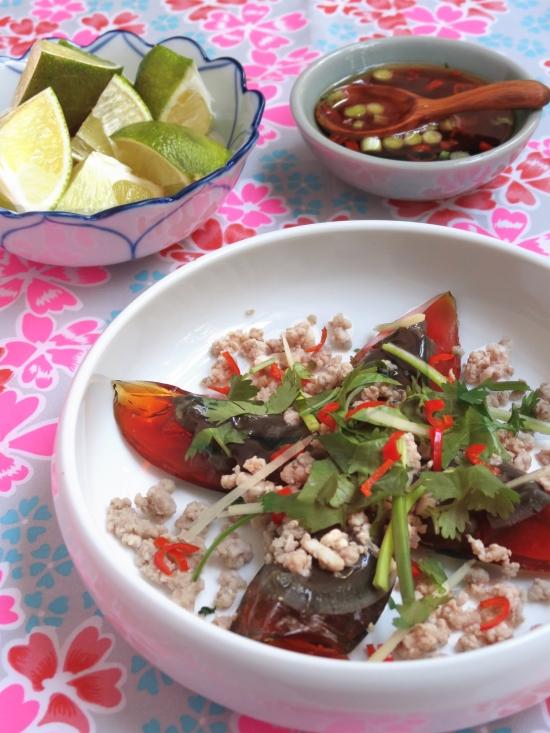 Recette de salade aux œufs de cent ans